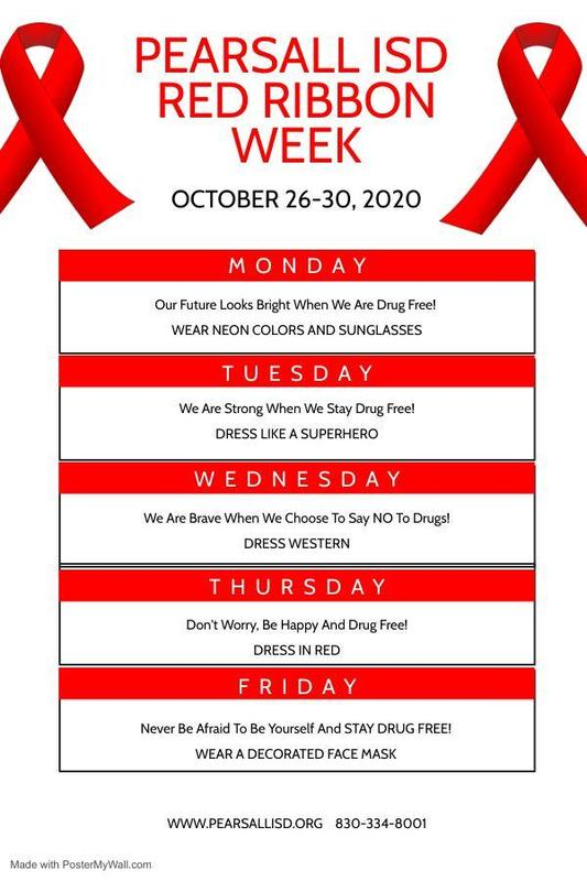 Red Ribbon Week Themes Thumbnail Image