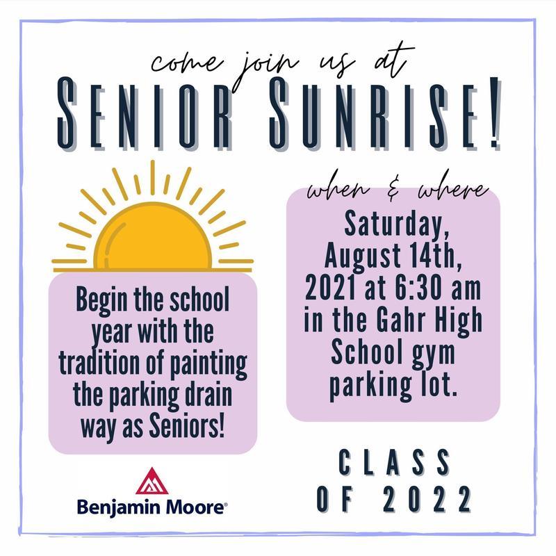 Senior Sunrise Poster
