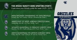 Athletic events 12/2/19