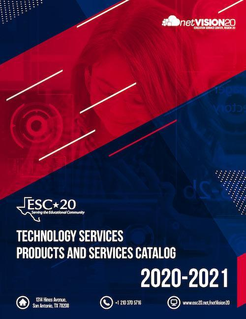 2020-21 Technology Services Products and Services Catalog Cover