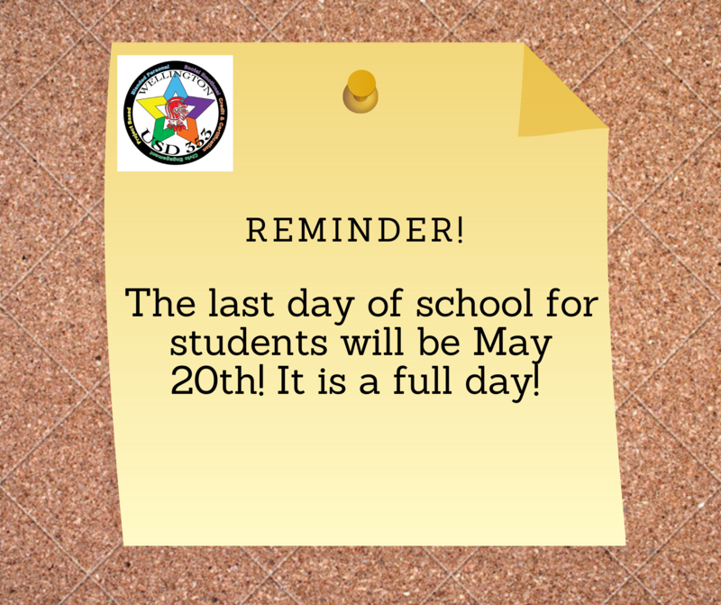 Last Day of School for Students is May 20th! Featured Photo