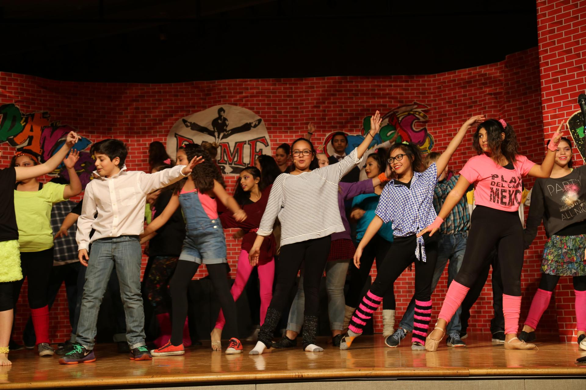 Students perform in school musical