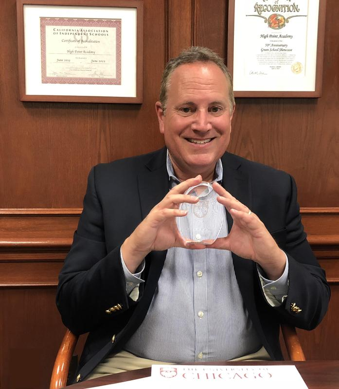 Gary Stern, Head of School, Receives 'Outstanding Educator' Award! Featured Photo