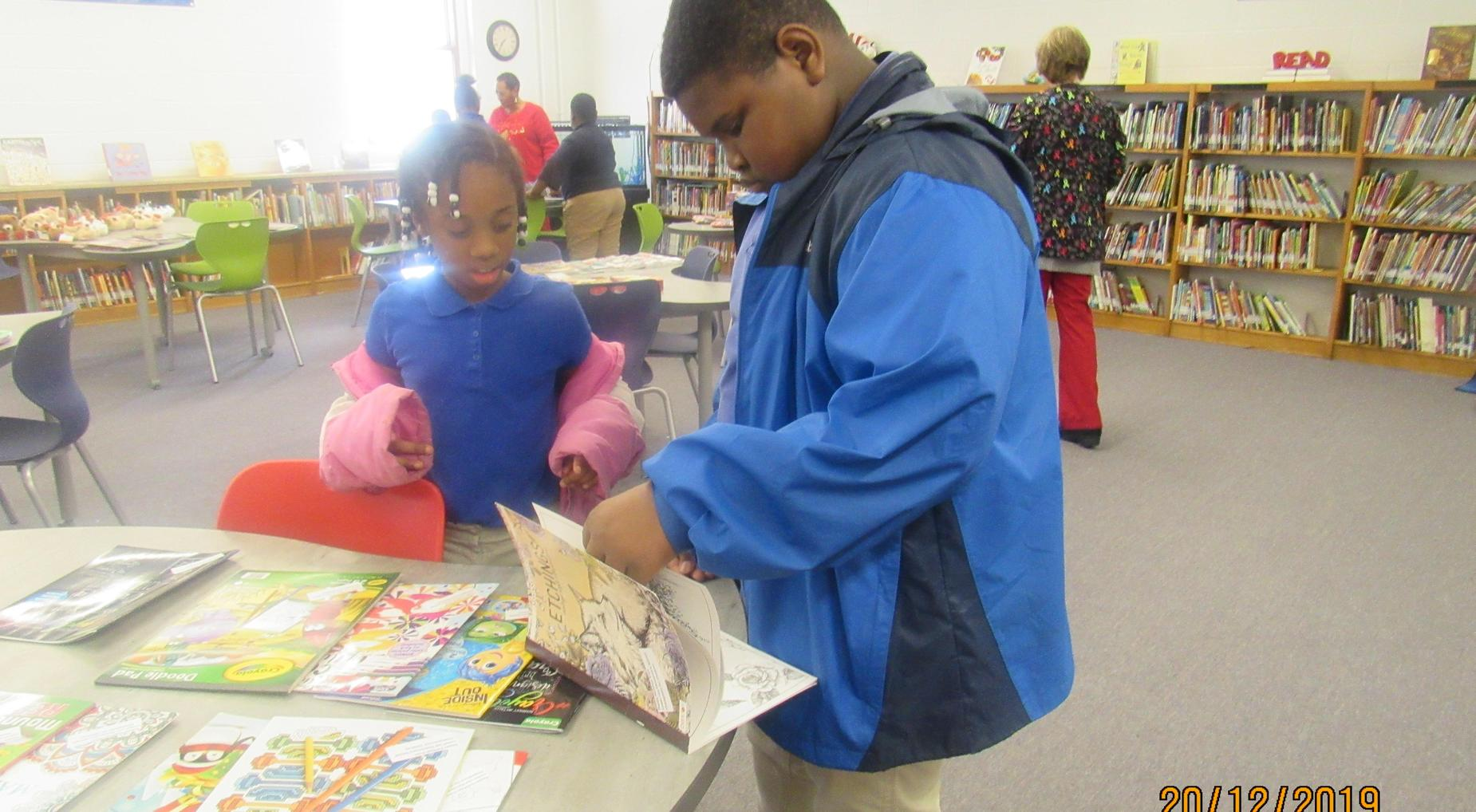 Season of Giving ~ All students received gifts
