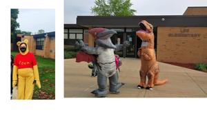 Winnie the Pooh one week, dancing dinosaurs the next.