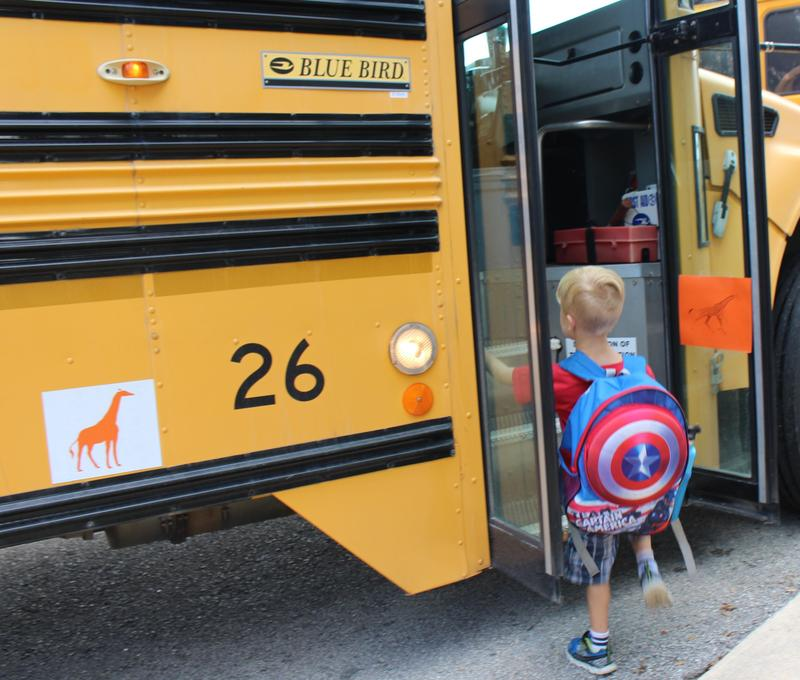 New WISD School Bus Initiative Helps Youngest Students Find Their Ride Thumbnail Image