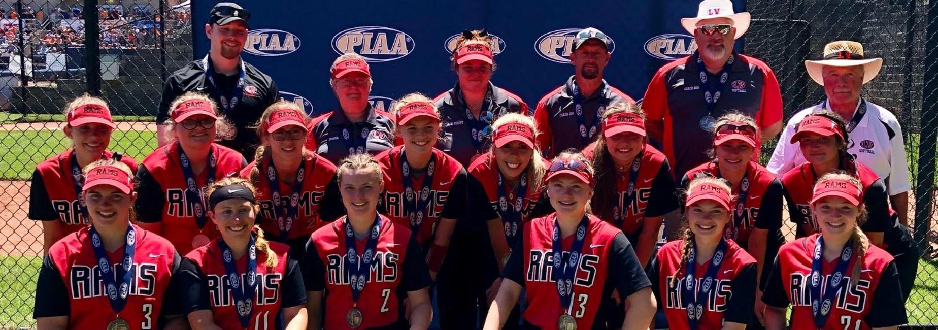 LVHS PIAA AA Softball Runner Up