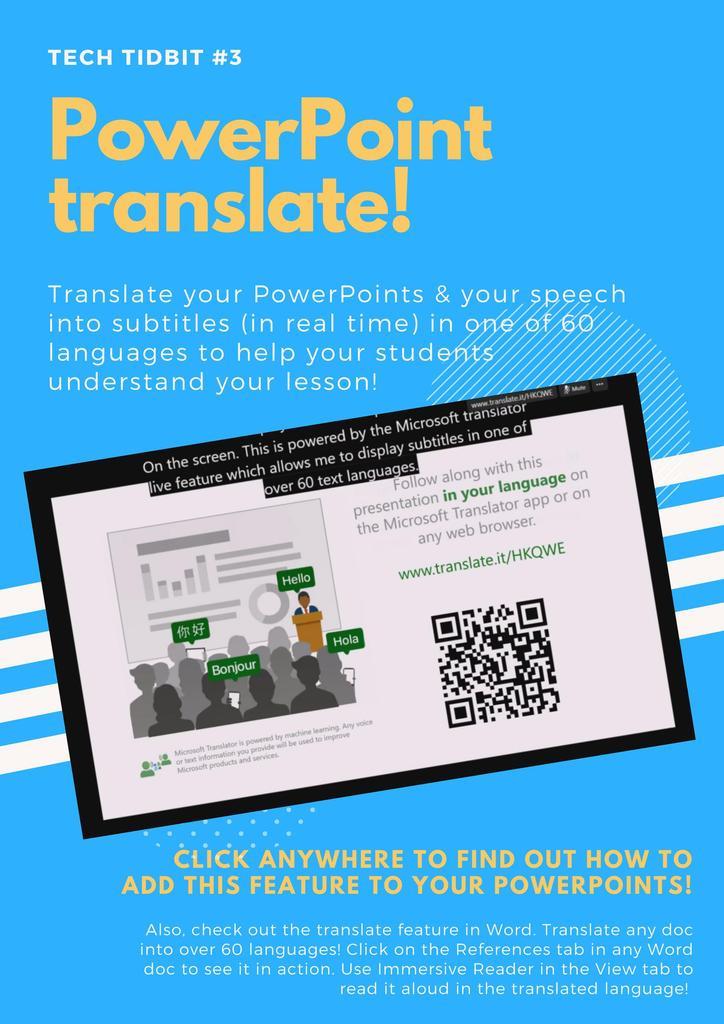 PowerPoint Translate