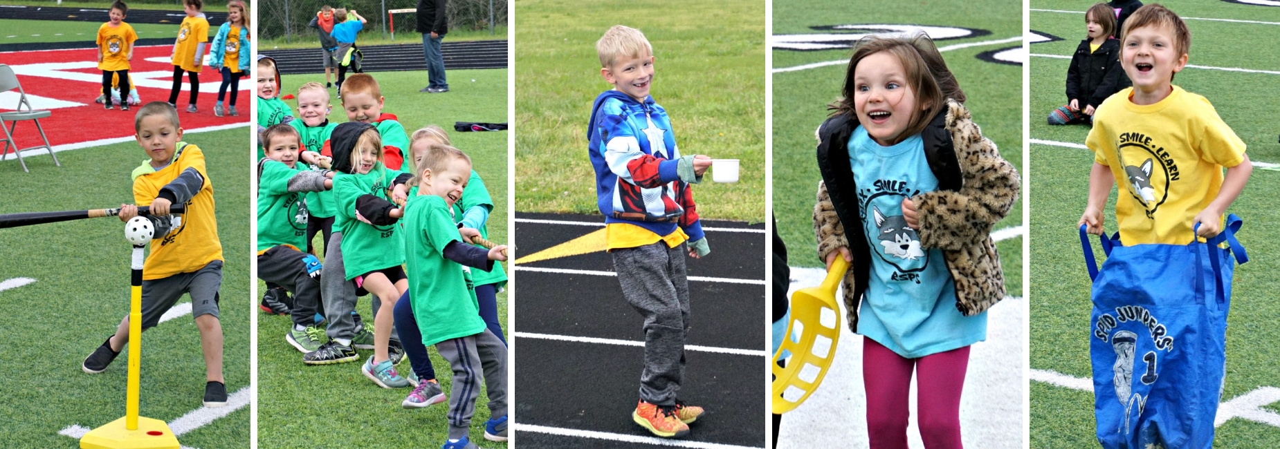 pictures of field day activities