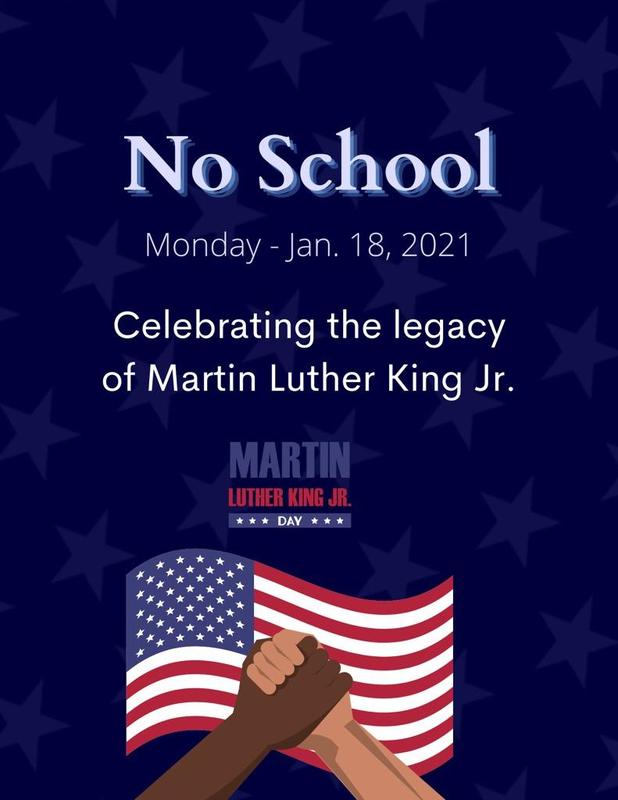 Martin Luther King Jr. Day - No School 1/18/21 Featured Photo