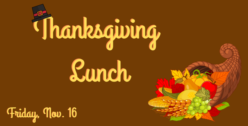 Thanksgiving Lunch Featured Photo