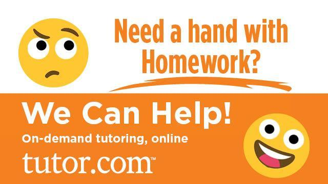 Online Tutors Are Ready to Help You! Thumbnail Image