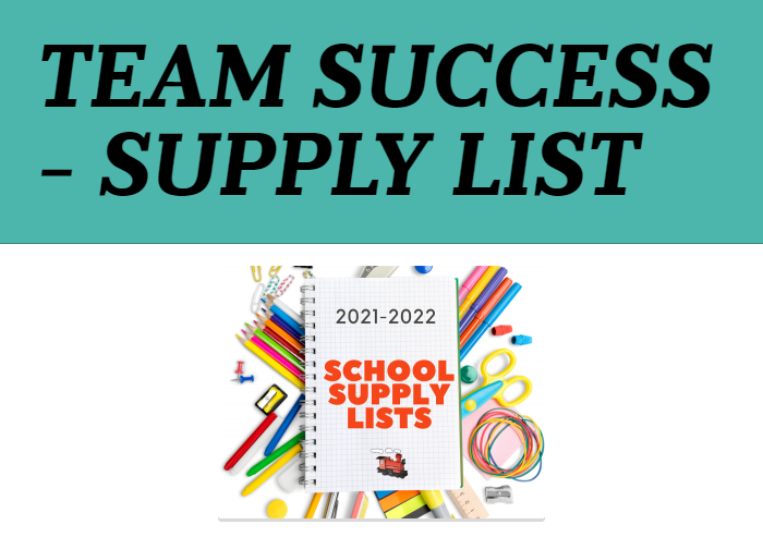 School Supply Lists For All Students Featured Photo