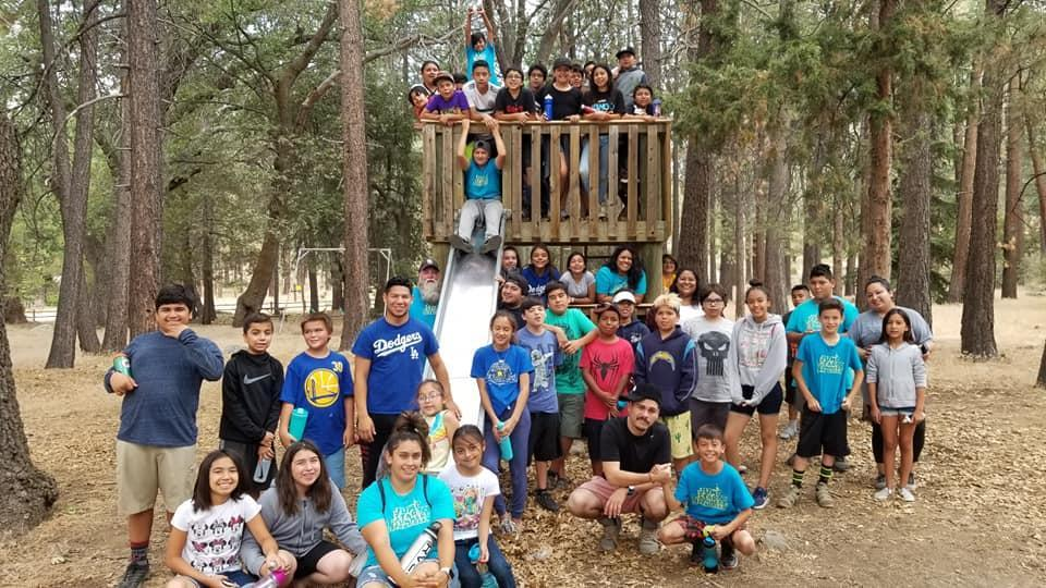 Middle School Camping Group