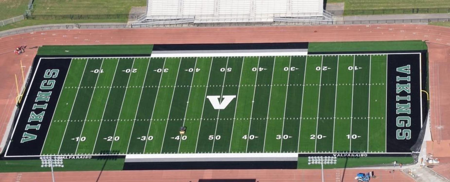 Aerial View of VHS Football Field