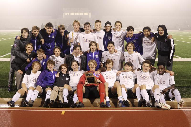CBC soccer wins district championship