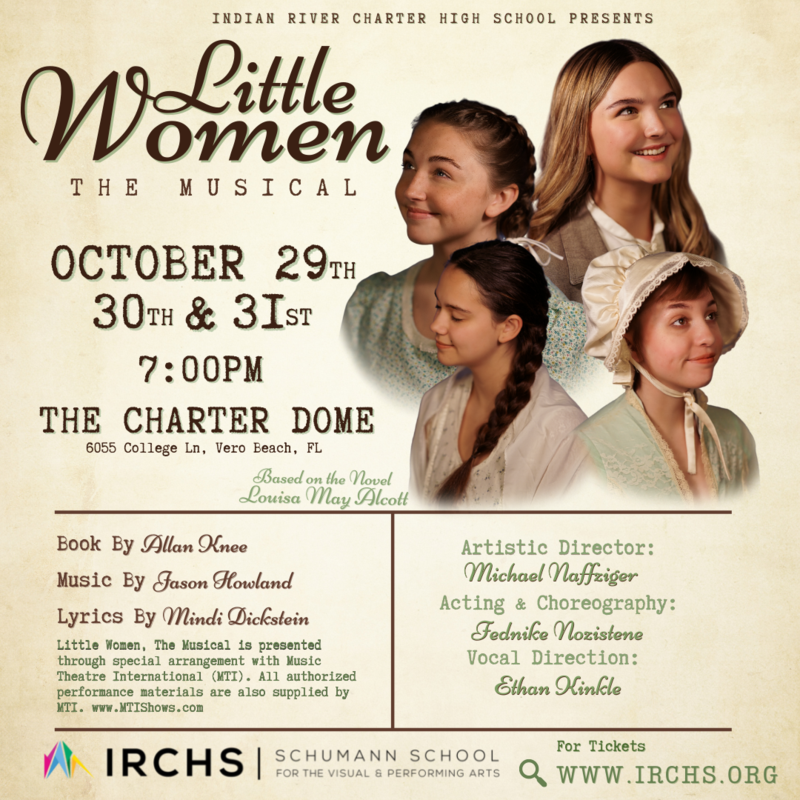 IRCHS Presents Little Women, The Musical - Tickets on sale NOW! Featured Photo