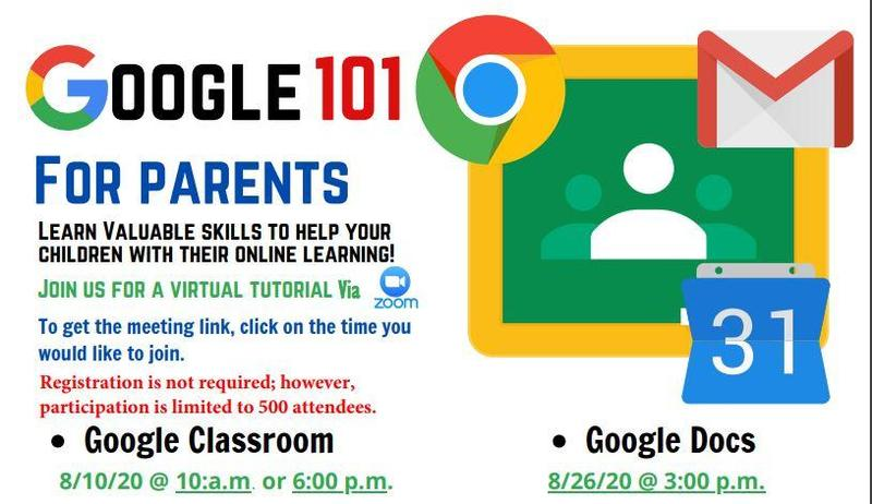 Flyer for Google Classes