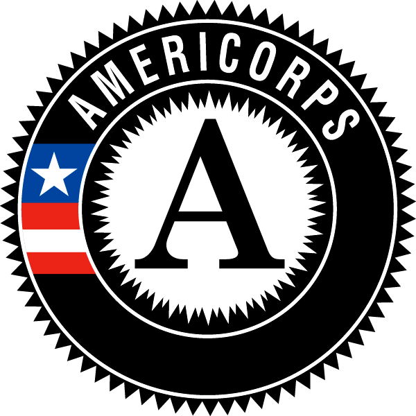 AmeriCorps logo.