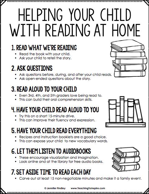 Reading at Home – Jessica Kreutzer – Robert Fulton Elementary School