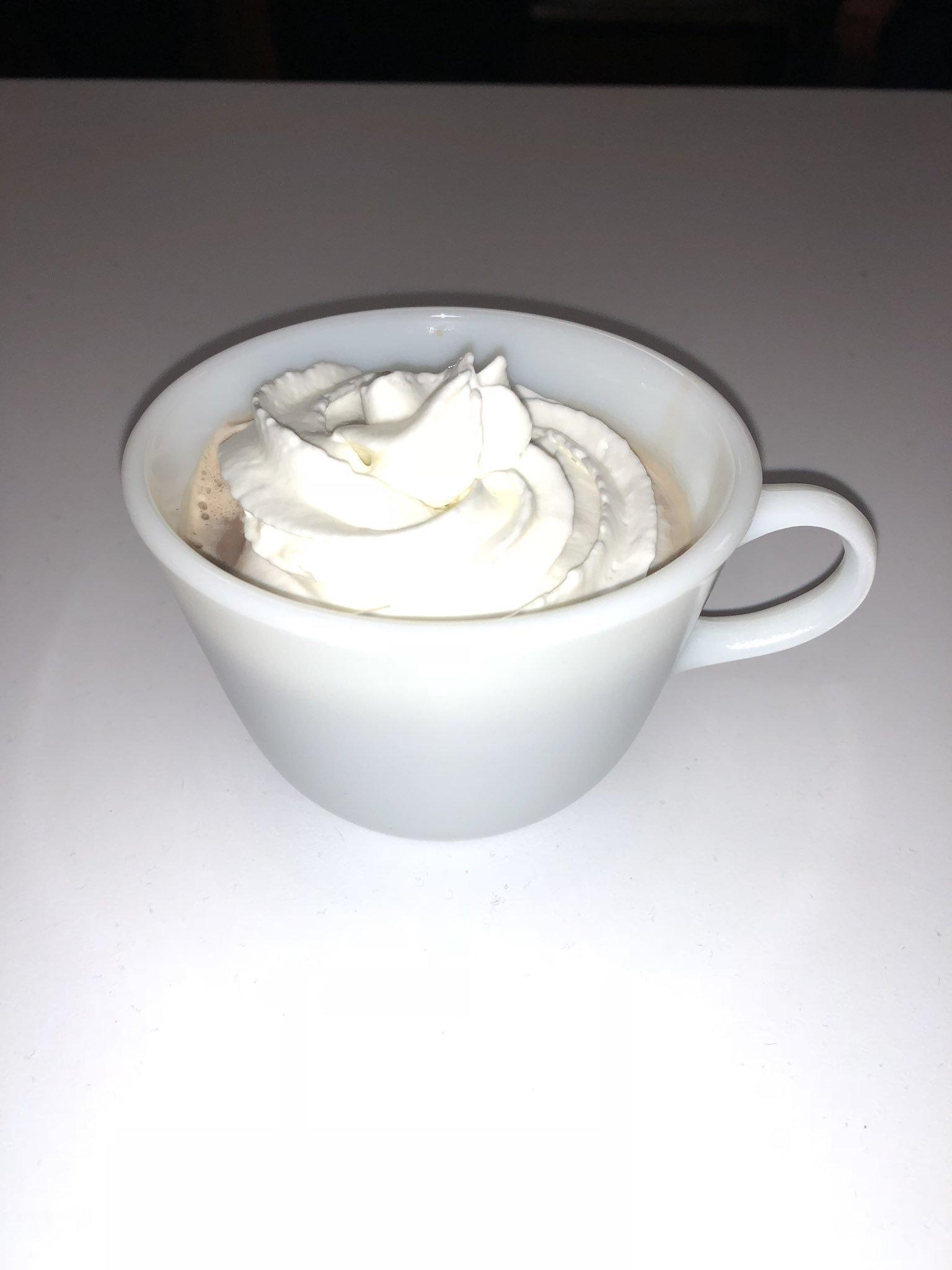coffee mug with frappucino