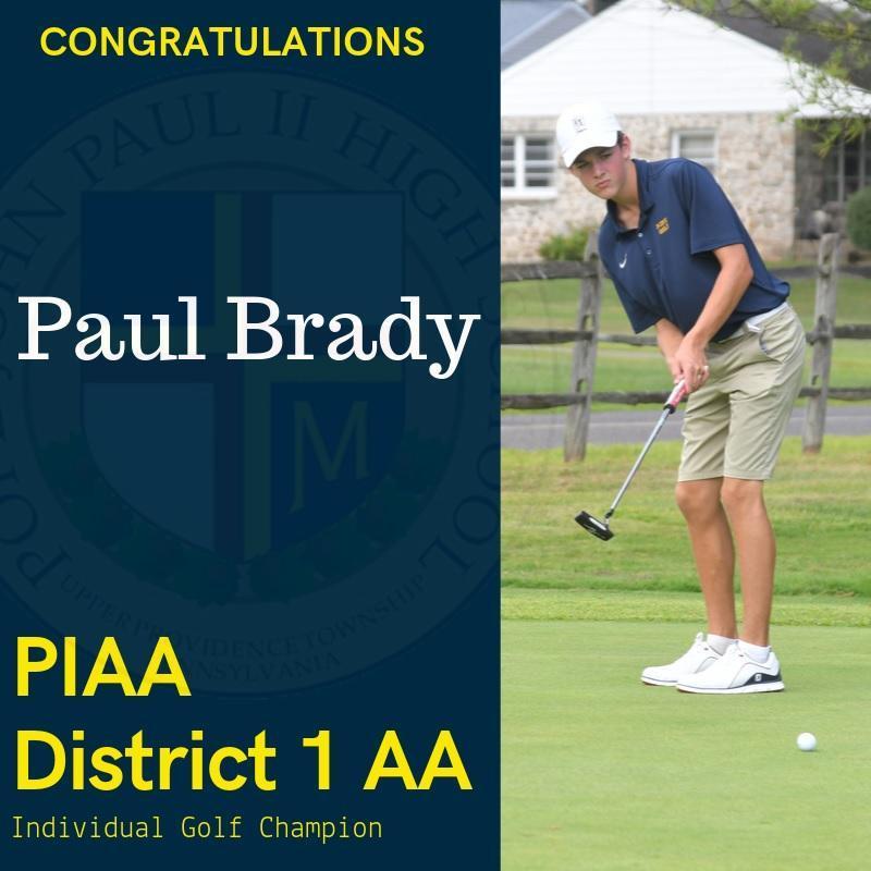 Congratulations, PAUL BRADY! Thumbnail Image