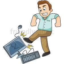 kicking computer