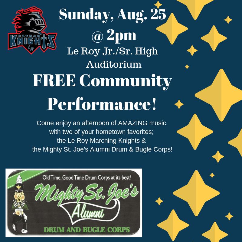 Free Community Performance
