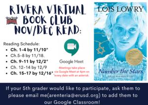Rivera Virtual Book Club