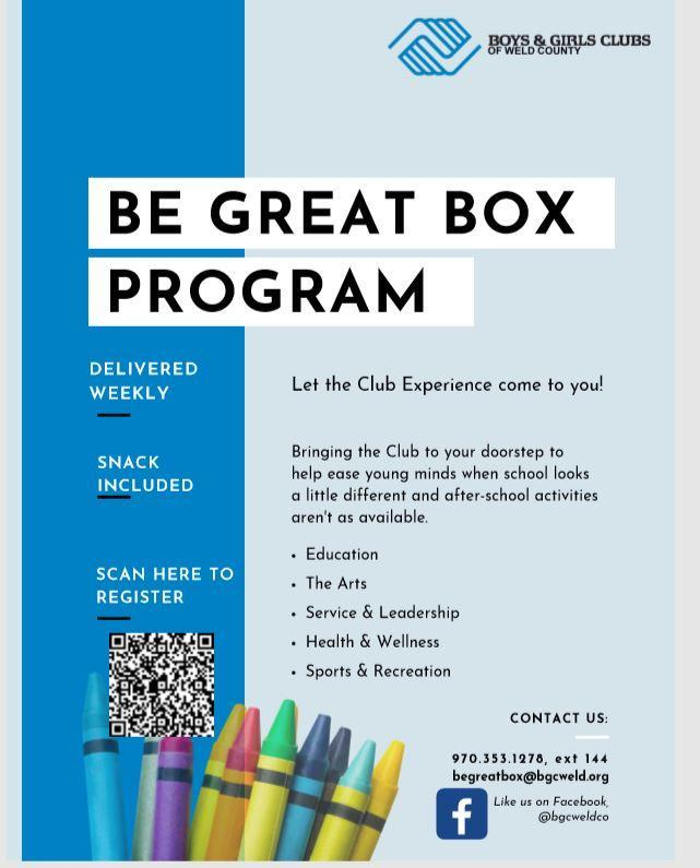 Boys and Girls Club Flier