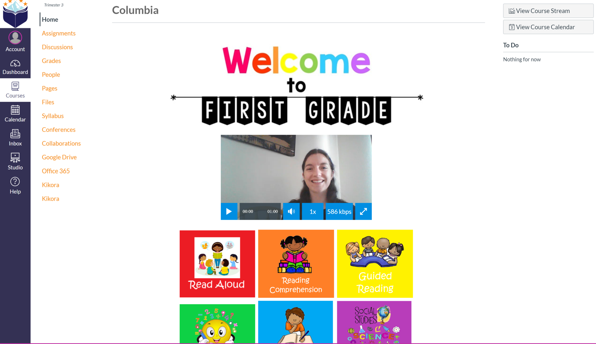 1st Grade Homepage
