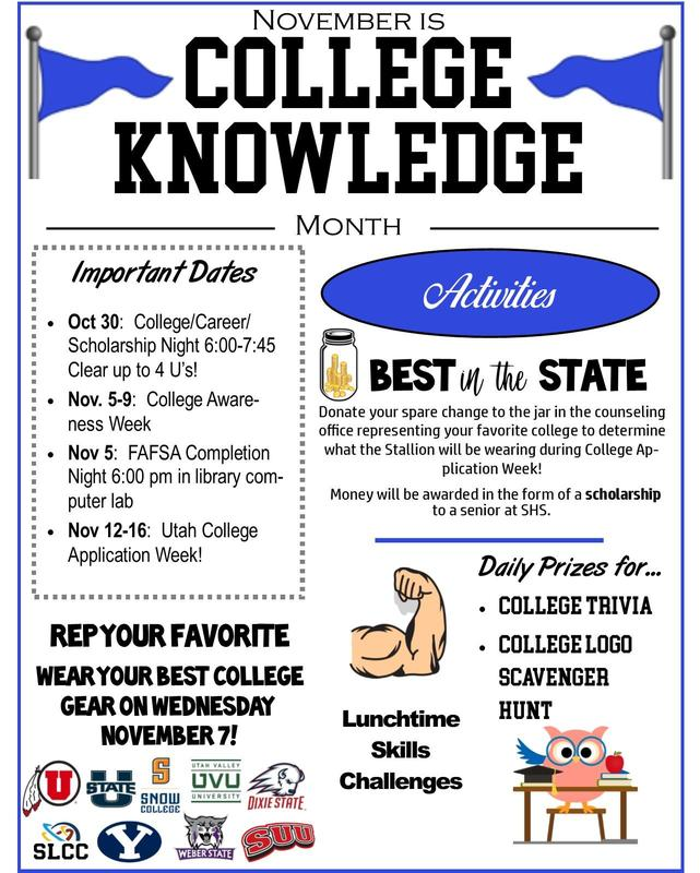 November is College Knowledge Month Thumbnail Image