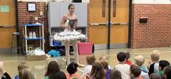 Nutcracker Ballerina Visiting