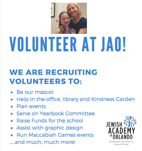 Volunteer at JAO