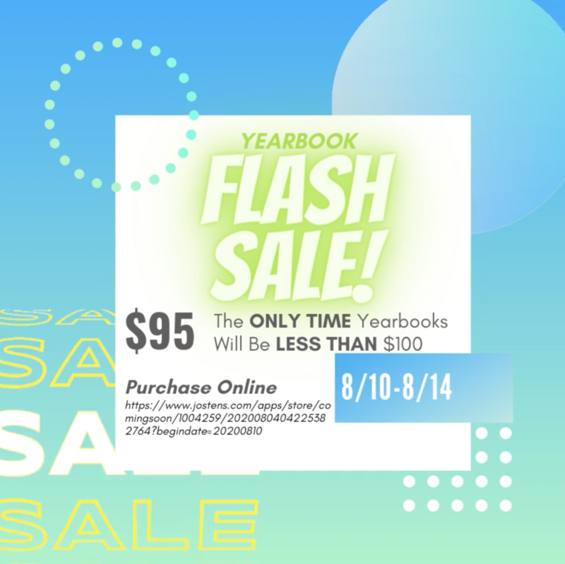 Yearbook Flash Sale Featured Photo