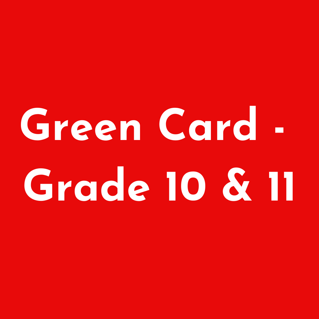 GC - Grade 10 and 11