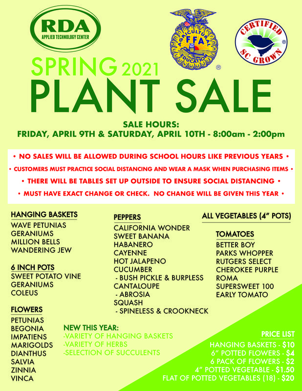 RDA Plant Sale Featured Photo