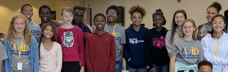 Seventh Grade AVID Students Tour Black Hawk College Featured Photo