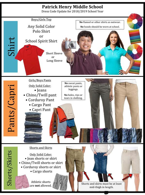 PHMS Dress Code Featured Photo