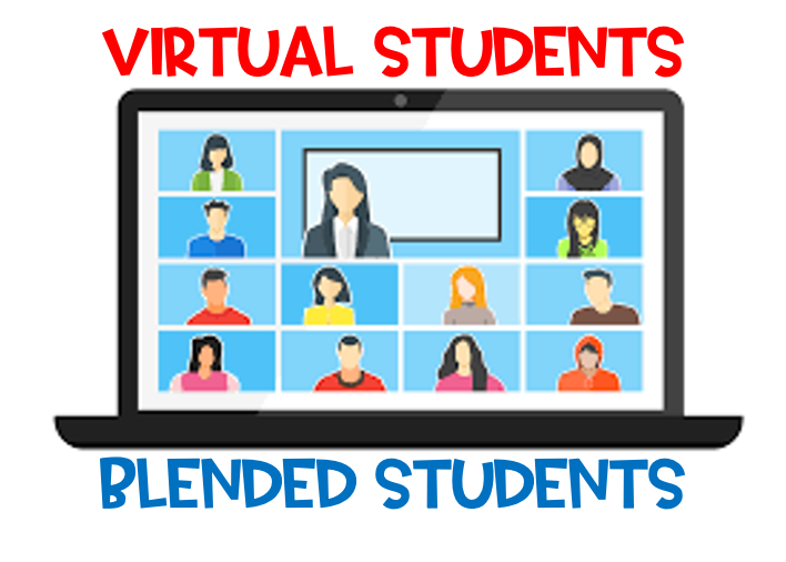 Blended and Virtual Students Featured Photo