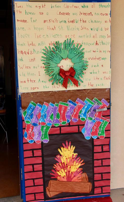 CONGRATULATIONS to the students of Mrs. Kemp, Mrs. Davey, Ms. Remington, and Mr. Beye on their winning door decorations! Thumbnail Image