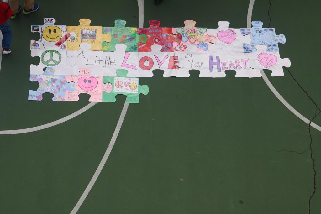 peace sign puzzle piece #11