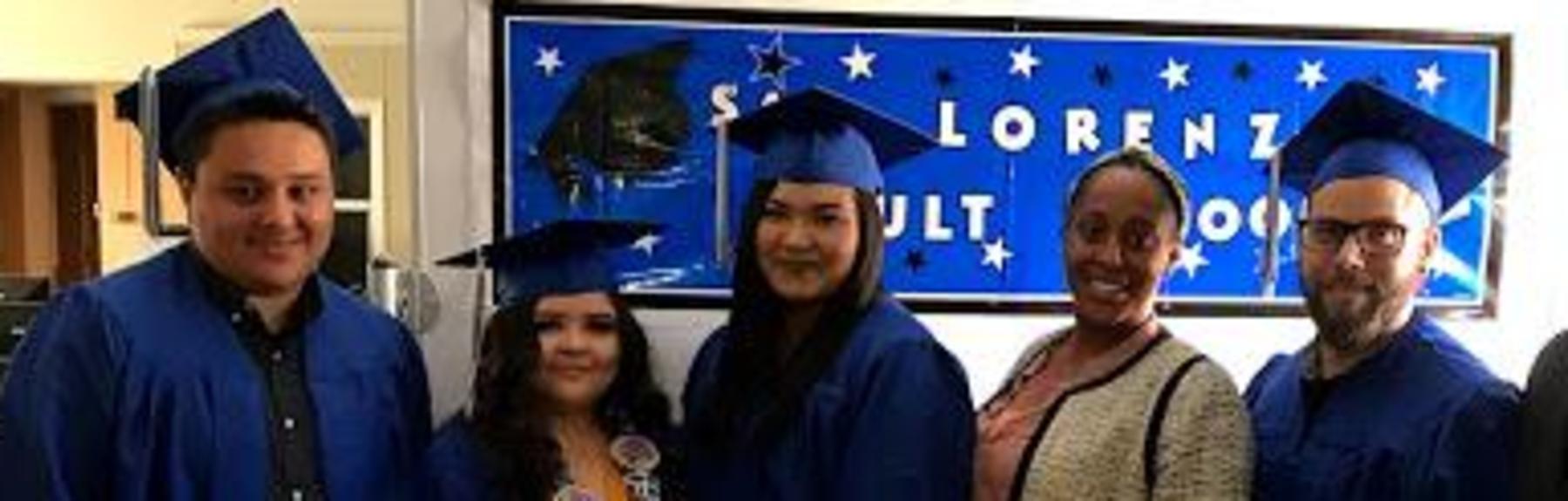 San Lorenzo Adult School, High School Diploma-Class of 2018
