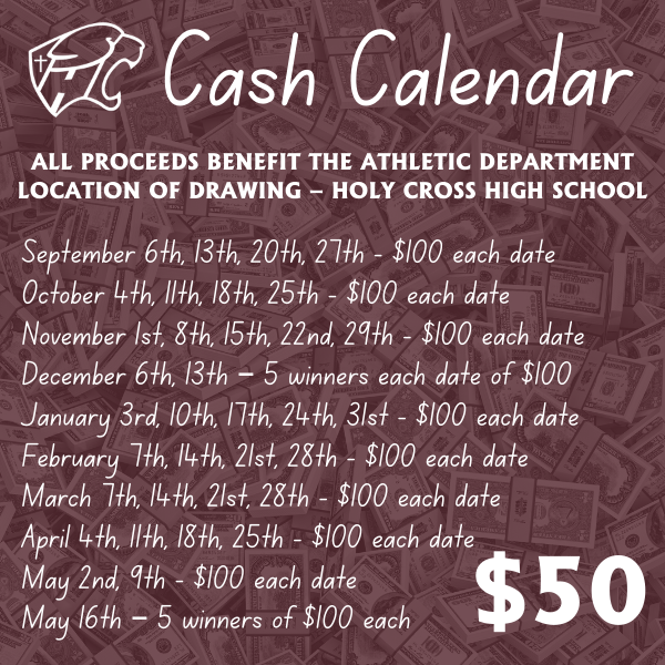 Cash Calendar