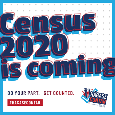 Banner for Census 2020 Is Coming