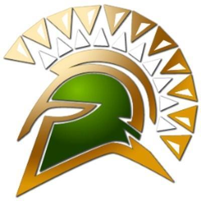 Red Bluff Spartan Logo