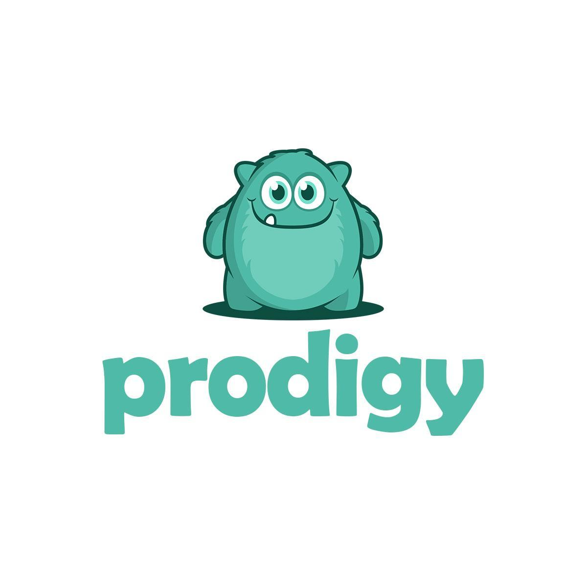 Logo for Prodigy Math Games online