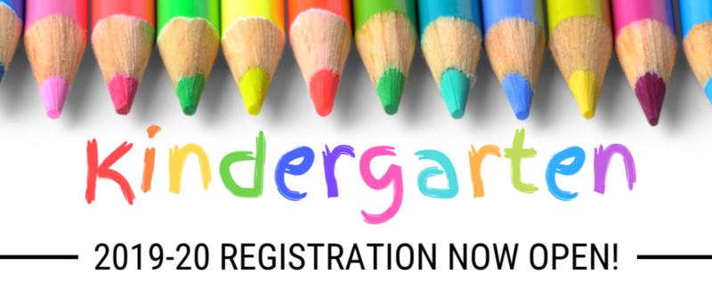 Kindergarten Registration is Now Open Thumbnail Image