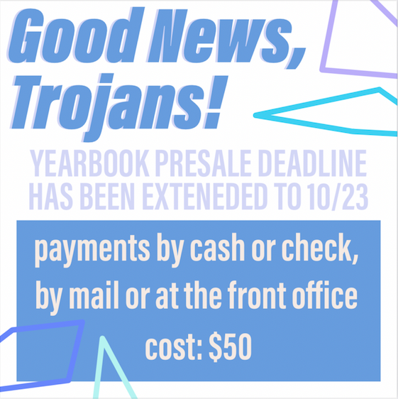 YEARBOOK SALES EXTENDED