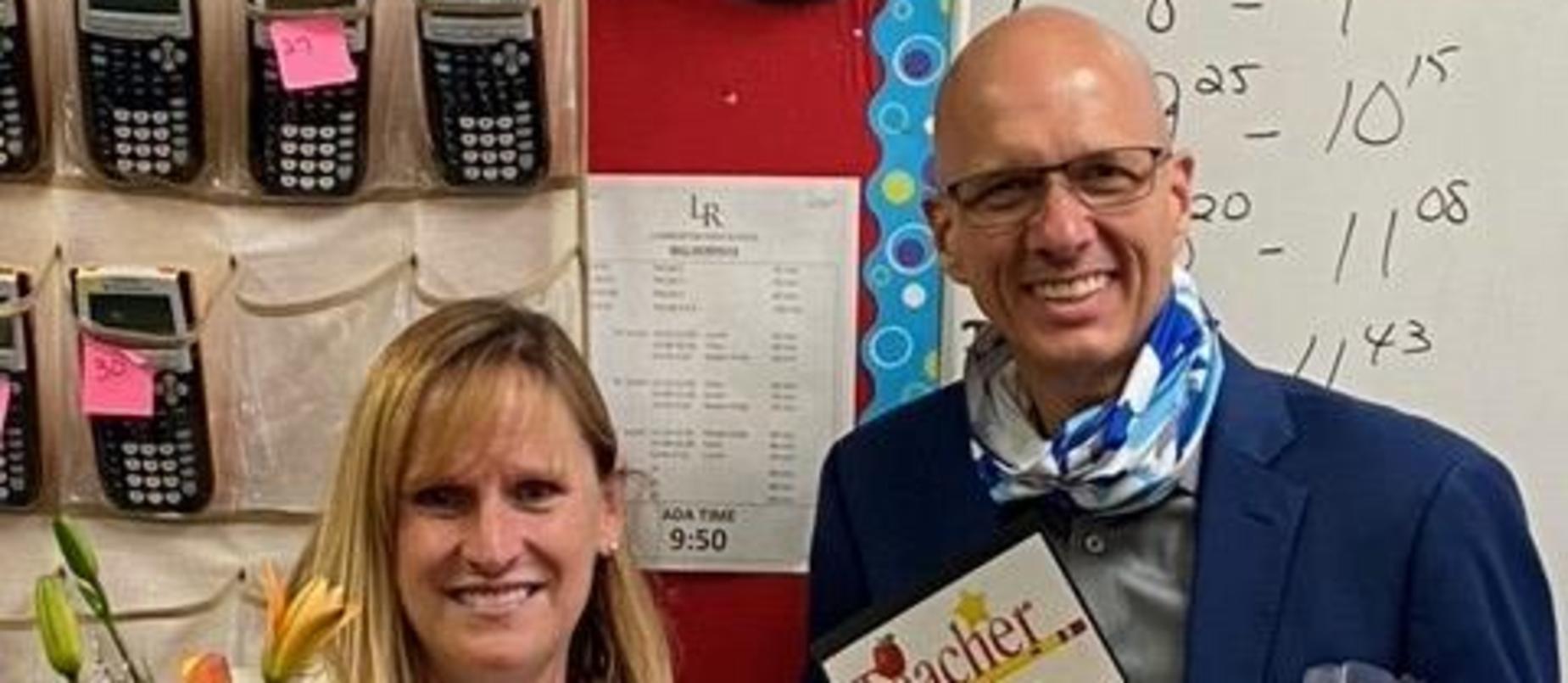 Lynn McLain - LHS Teacher of the Year!